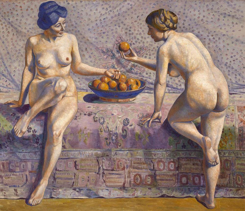 femmes-aux-oranges-georgette-agutte