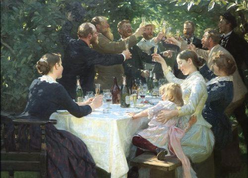 Hip Hip Hurrah! de Peder Severin Krøyer - photo wikimedia