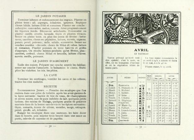 Almanach des lettres et des arts, 1917 Collection universityofottawa; toronto