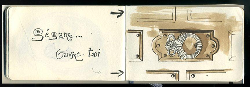 Carnet de croquis -IF