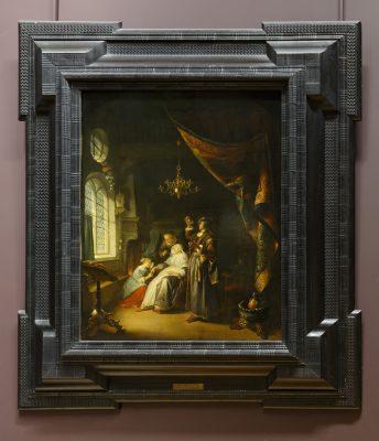 Gérard Dou - La femme hydropique - 1663 -  Louvre