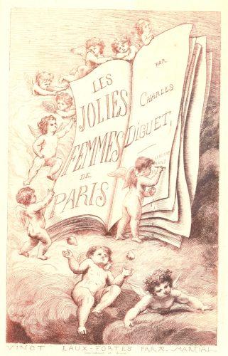 Jolies femmes de Paris de Charles Diguet - ill Martial ©Gallica