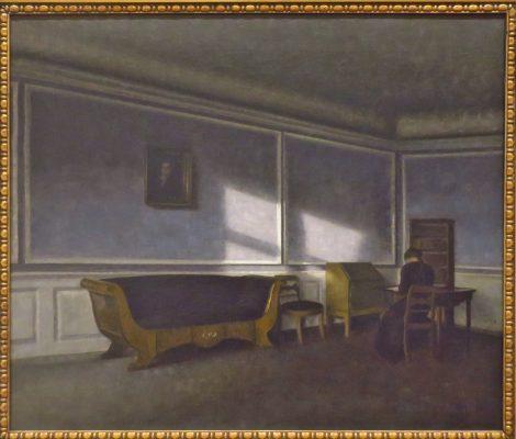 Rayon de soleil dans le salon 1910