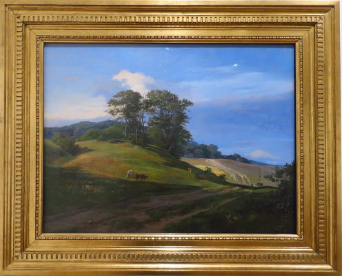 Paysage, Sorup vang  de Johan Thomas Lundbye 1841