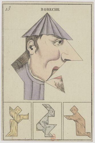 Bobeche, carte à jouer ©Gallica