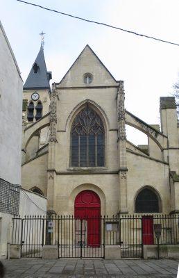 Eglise St médard Paris ©M.Frances, 2019