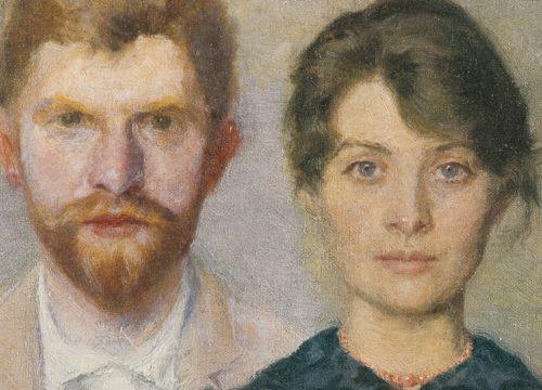 Double portrait of Marie and P.S. krøyer-Musee de Skagen
